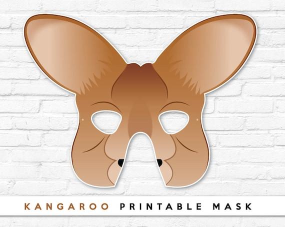 Уши кенгуру своими руками из бумаги