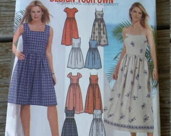 Simplicity  Dress Pattern 7206 size 14,16,18,20