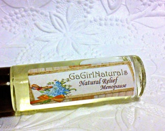SALE Natural Relief for Menopause, Aromatherapy, Roll On, Organic, Vegan
