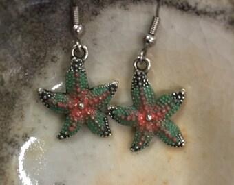 Sweet Starfish Earrings