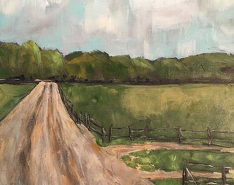 South Georgia Dirt Road original rutsl painting