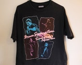Vintage band t-shirt, Bruce Springsteen, Tunnel of Love tour Express tour, 1980s, XL