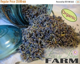 Sale 1/4 (4oz) Pound Dried Lavender Flowers. Organic Loose French lavender Buds- sachets, wedding toss. Loose lavender, BULK-- free shipping
