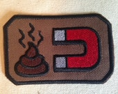 Fun Patch, Poop magnet patch, iron on patch