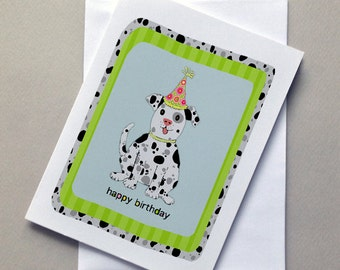 Birthday Doggie Card, Dog, Doggie, Birthday Card, Wholesale