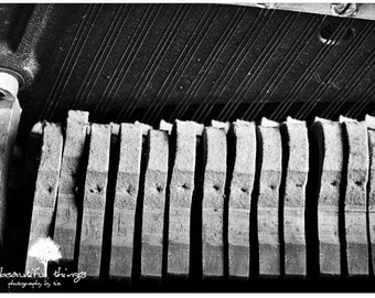 SM Forgotten Songs Abandoned Piano Pedals black and white  Urbex Urban Exploration  Home Decor  fPOE poe team postcards 4x6 5x7 8x10