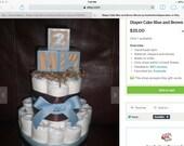 Custom three tier cakes