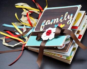 On Sale Family Photo Album Our Family Memory Keepsake Ready To Ship