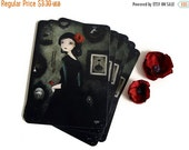 30% Off Halloween Sale - The Art Collector (La Collectionneuse d'Art) - Carte Postale