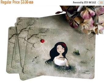 30% Off Halloween Sale - Snow White - Postcard