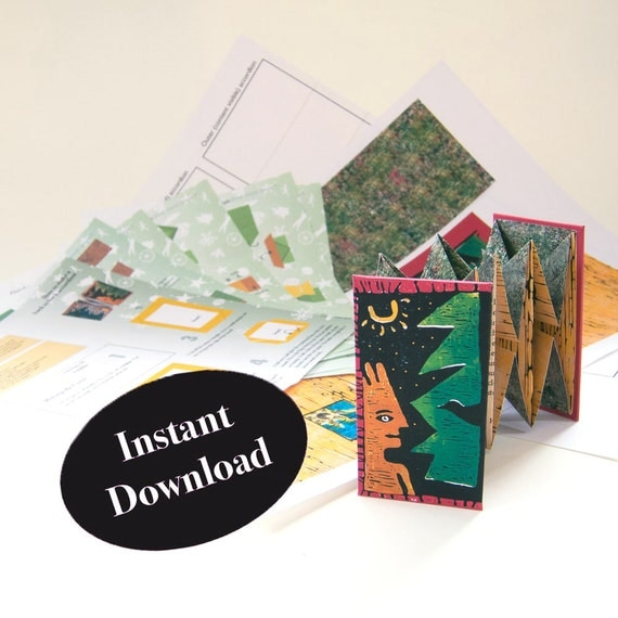 how to make a pop up book instructions