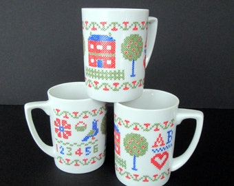 Set of Three Sampler Mugs