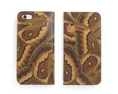 Leather iPhone 6 case, iPhone 6s Case, iPhone 6s Plus Case - The Atlas Moth (Exclusive Range)