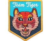 Team Tiger Iron On Patch