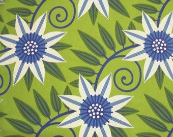 COUPON Code Sale, Free Spirit, Gregory's Garden, Clematis, Cornflower Blue, Jane Sassaman, 100% Cotton Quilt Fabric, Floral, SELECT A SIZE