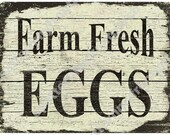 Printable Download Farm Fresh Eggs , Cottage Beach or Farmhouse Decor , digital , jpg , labels , Shabby Chic , Tote Bag , Iron onTransfer