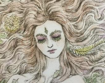 Beatrice Greets Death - 8x10 Print