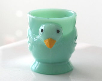 Jade Turquoise Opalex Chick Egg Cup