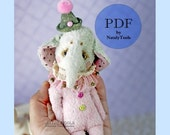 PDF TUTORIAL Master-Class 4-in-1, pocket Elephant by NatalyTools, instant download teddy pattern, soft toy pattern, (6in/15cm) fox bear hare