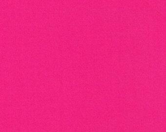 Liberty Tana Lawn Fabric Plain Hot Pink L- Yard