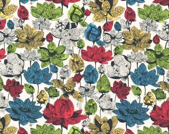 Liberty Fabric Asaka B Tana Lawn One Yard Bright Japanese Print
