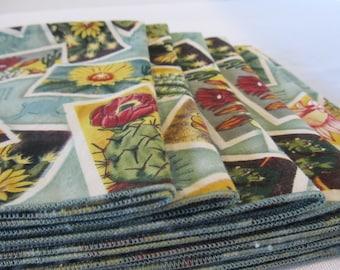 Cloth Napkins Desert Beauty