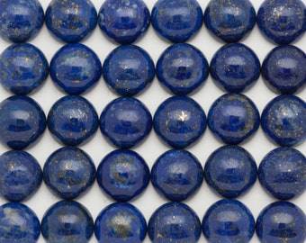 10mm - ONE Gorgeous Blue Lapis Lazuli  Cabochon