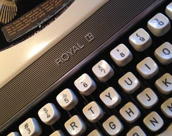 Mercury Portable Typewriter by Royal