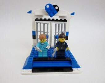 Reserved listing for Lisa - Lego Weding Cake Topper - Custom Wedding  Lego  Table Decoration - Lego Wedding Couple