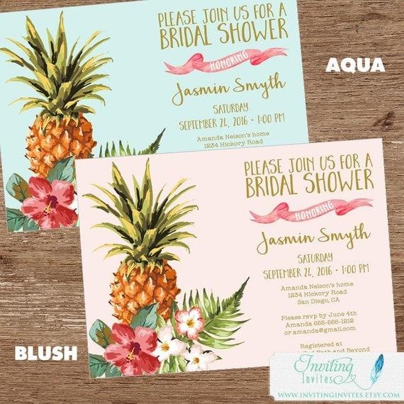 Hawaiian Baby Shower Invitations is great invitation sample