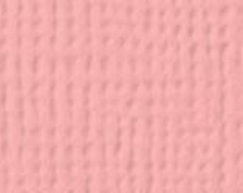 8 1/2 x 11 - American Crafts - Textured - Peach Cardstock
