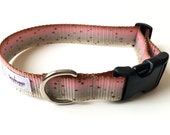 Trout Dog Collar - Dog Collar Flyfishing - Rainbow Trout Collar - Medium or Large Collar