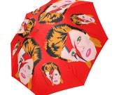 ZIGGY REBEL REBEL changes major tom umbrella ... original illustration