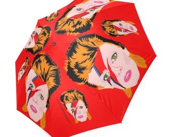 ZIGGY REBEL REBEL changes major tom umbrella ... original illustration