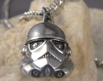 Men's Stainless Steel Stormtrooper Necklace