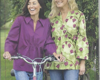Sale!  Bell Sleeve Blouse pattern (IJ864) - Indygo Junction
