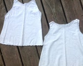 VINTAGE INFANT UNDERSHIRTS- perfect for the retro-chic baby- doll clothes- child's dress- baby dress