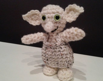 Crochet Dobby from Harry Potter
