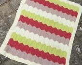 Chevron Baby Blanket PDF Knitting Pattern