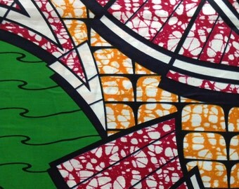 African wax print. Six yards of African print. Wax print fabric. African wax fabric. Whole bolt
