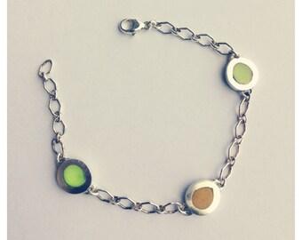 Pebble Bracelet - 3 pebbles