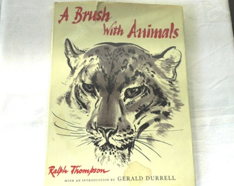 A Brush With Animals by Ralph Thompson  1963