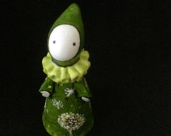 Dandelion Dreams - A Poppet inspired by May Day