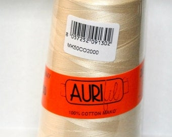 Aurifil 50wt Thread Cone  2000