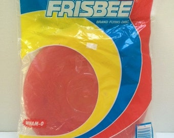 Vintage Red WHAM-O Frisbee Sealed in Original Package