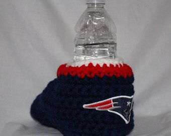 New England Patriots Drink Mitt  - The mitten with the drink holder built right in