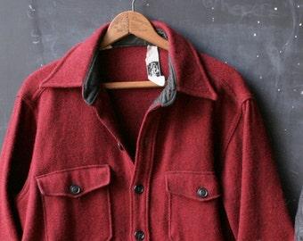 Vintage Woolrich Jacket Coat Tweed Wool Bohemian 70s Unisex Men or Women Vintage From Nowvintage on Etsy