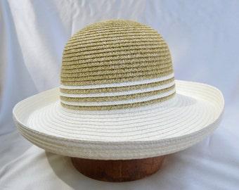 Sun Hat / Kettle Medium Brim Sun Hat / Womens Sun Hat / Vegan Hat / Womens Travel Brim Hat / Resort Hat / Beach Hat