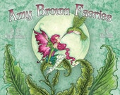 PRE-ORDER 2017 Faeries Calendar 8.5x11 by Amy Brown