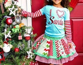 CHRISTMAS 2016 Super-set  surprise super-twirl skirt and matching T